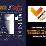 "VIDEO ""11ª Mezza Maratona Città di CAGLIARI – 38ª Maratòn Valencia Trinidad Alfonso 2018"""